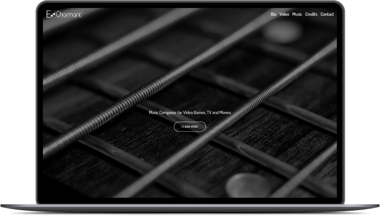 Edd Charmant Website Preview