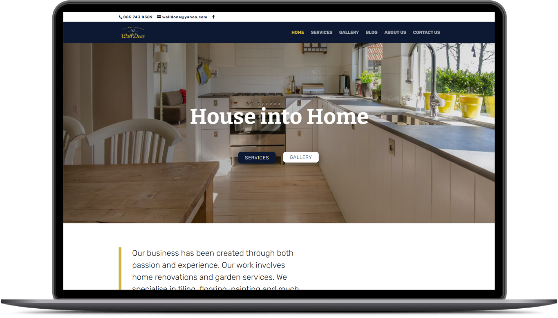 WallDone Website Preview