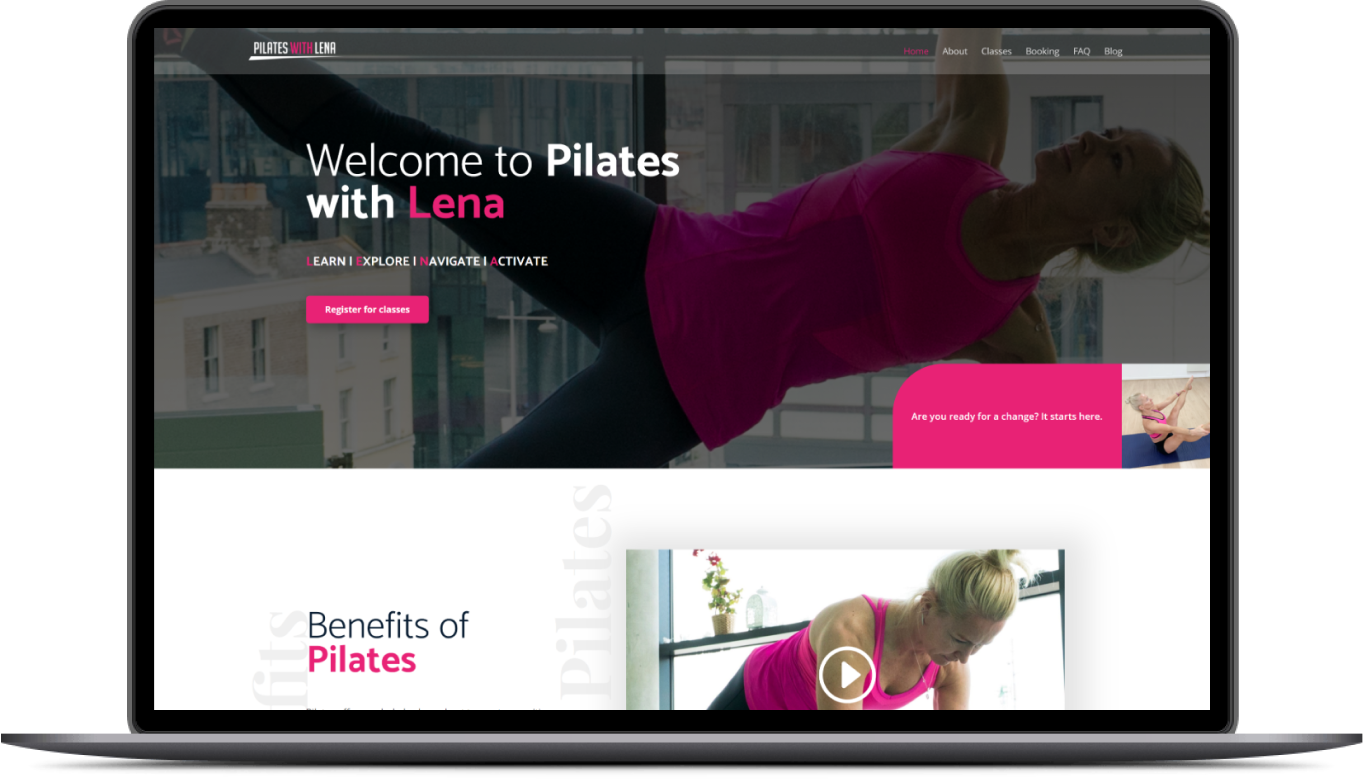Health by Orla Website Preview